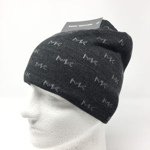 Michael Kors Reversible Knit Hat Winter Beanie